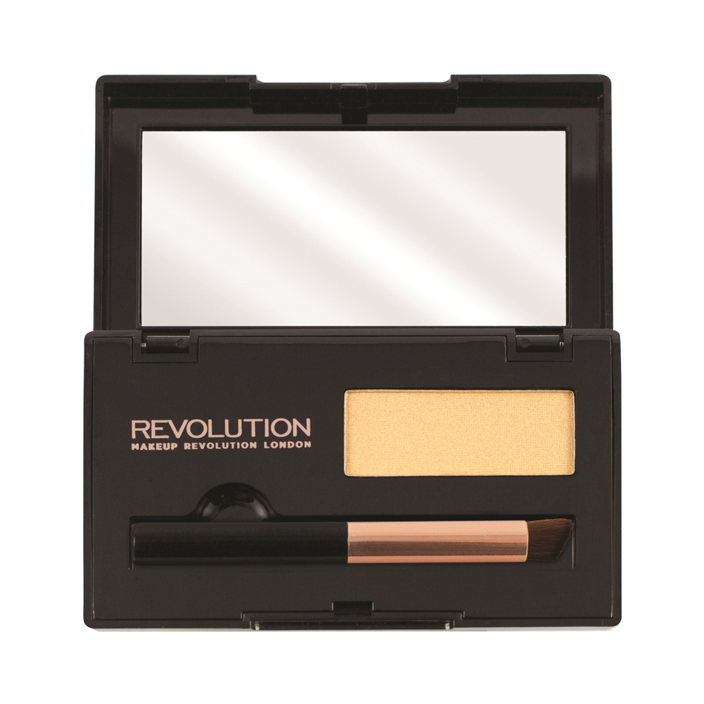 Makeup Revolution puder za prekrivanje izrasta kose - Root Cover Up Blonde