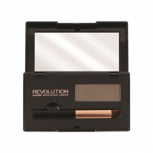 Makeup Revolution puder za prekrivanje lasnega narastka - Root Cover Up Dark Brown