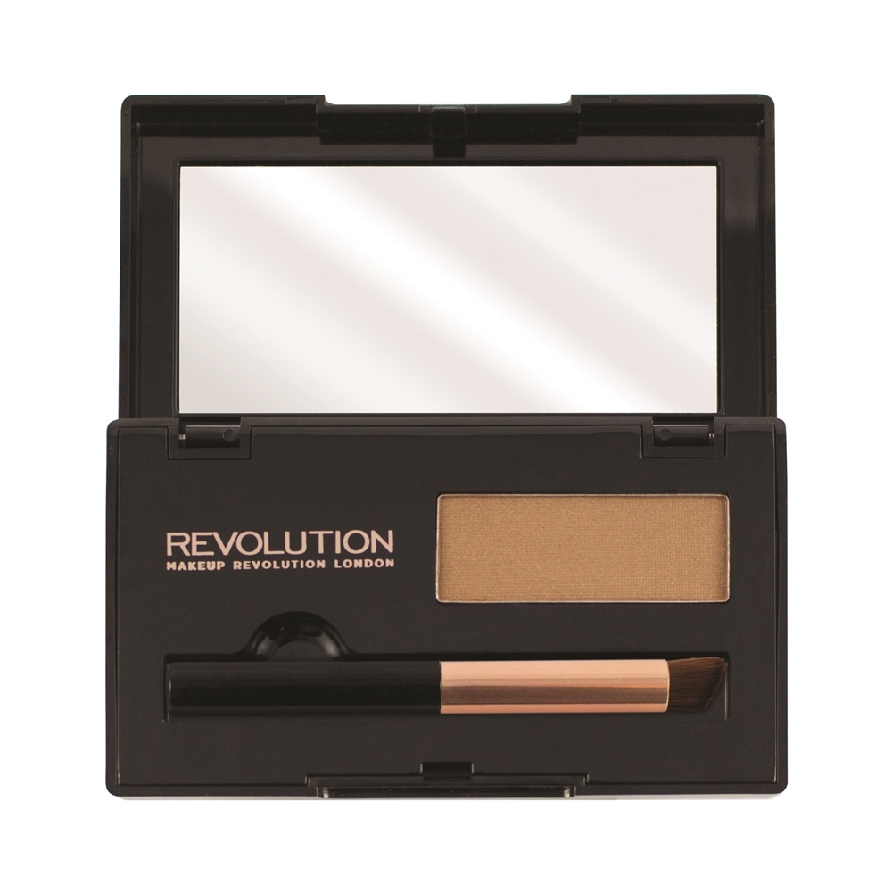 Makeup Revolution puder za prekrivanje izrasta kose - Root Cover Up Light Brown