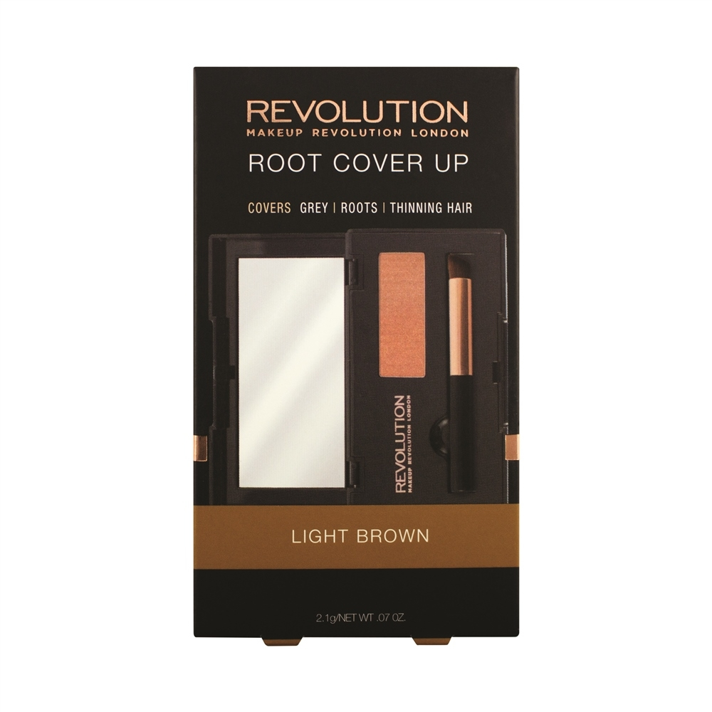 Revolution puder za prekrivanje lasnega narastka - Root Cover Up Light Brown