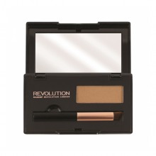 Makeup Revolution puder za prekrivanje lasnega narastka - Root Cover Up Light Brown