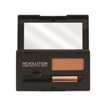 Makeup Revolution puder za prekrivanje lasnega narastka - Root Cover Up Red