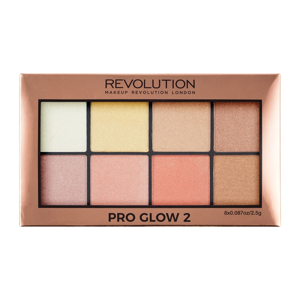 Makeup Revolution paleta highlightera - Pro Glow 2