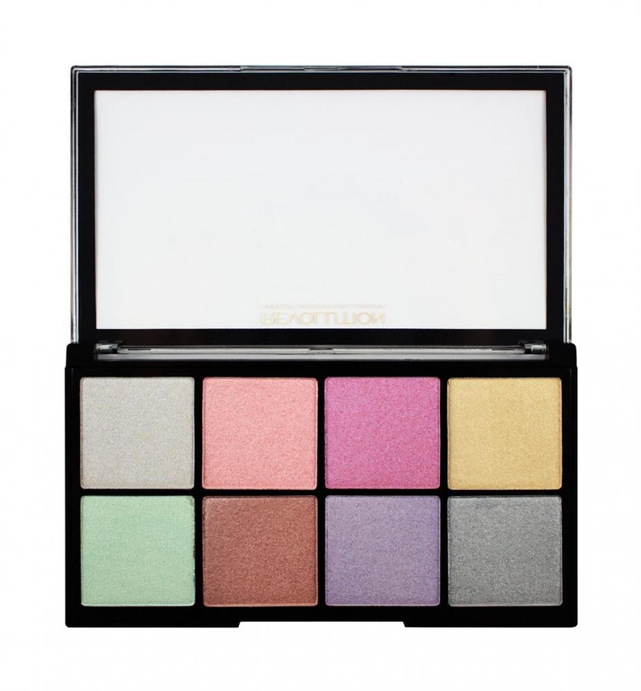 makeup revolution highlighter palette ultra cool glow. Black Bedroom Furniture Sets. Home Design Ideas