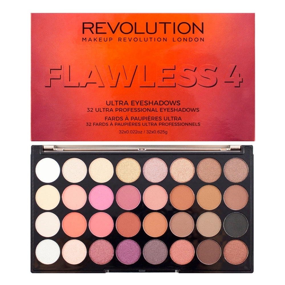 Makeup Revolution paleta senčil – Flawless 4