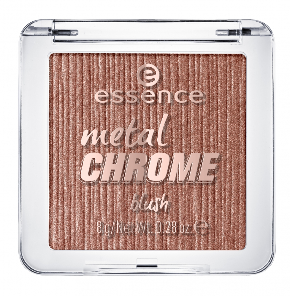 essence Rouge – Metal Chrome Blush – 10 My Name Is Gold Rosé Gold