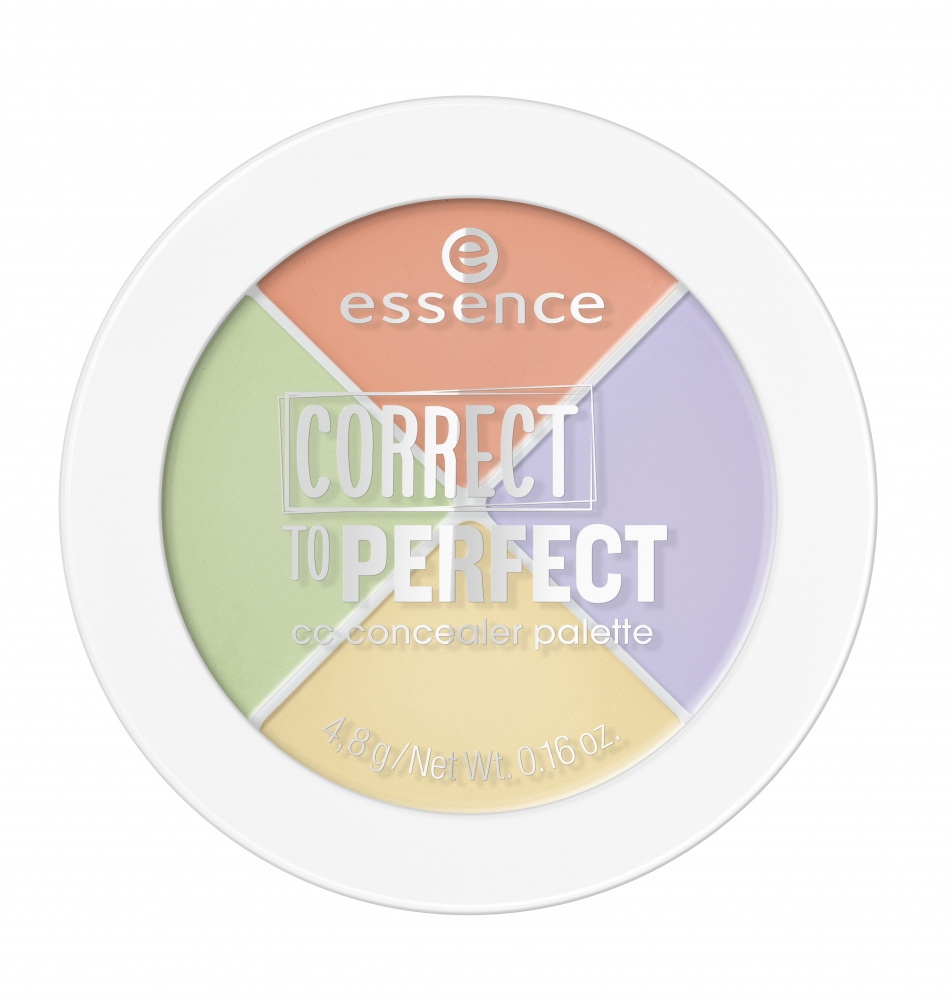 essence Concealer-Palette – Correct To Perfect CC Concealer Palette – 10 Nobody Is Perfect!