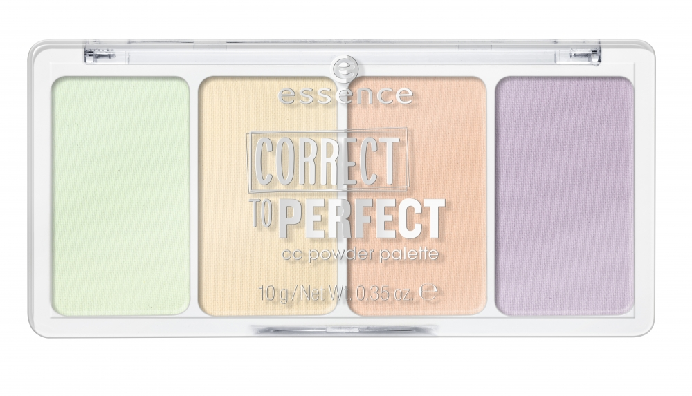 essence Concealer-Palette – Correct To Perfect CC Powder Palette – 10 Imperfectly Perfect!