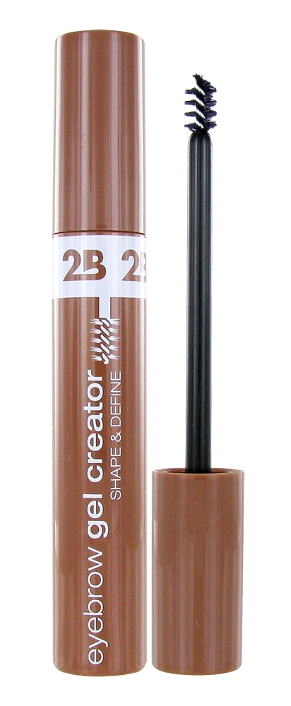 2B Cosmetics gel za obrvi – Eyebrow Gel Creator – 01 Light Brown (15921)