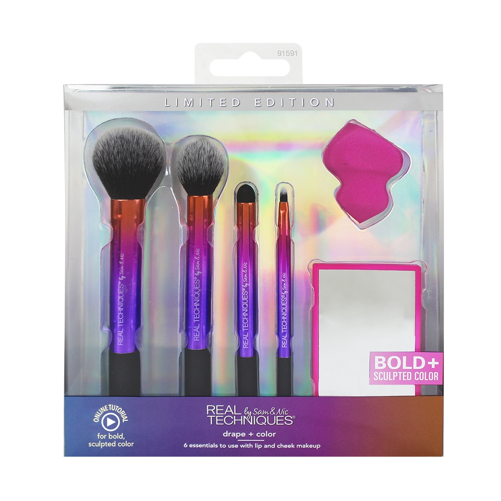 Real Techniques set per il makeup - Drape + Color Set (91591)