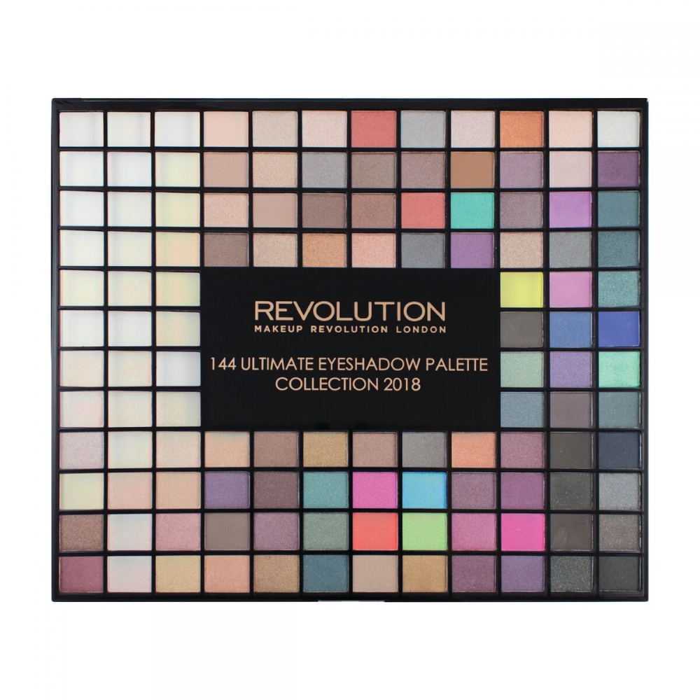 Makeup revolution 144 eyeshadow palette 2018 review