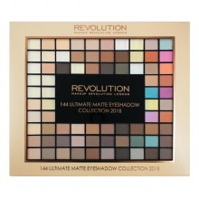 Makeup Revolution paleta senčil - 144 Ultimate Matte Eyeshadow Palette Collection 2018