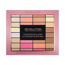 Makeup Revolution paleta - Ultimate Blush, Light and Contour Palette 2018