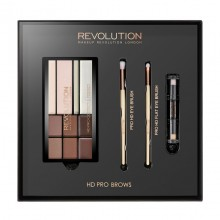 Makeup Revolution set za obrvi - HD Pro Brows
