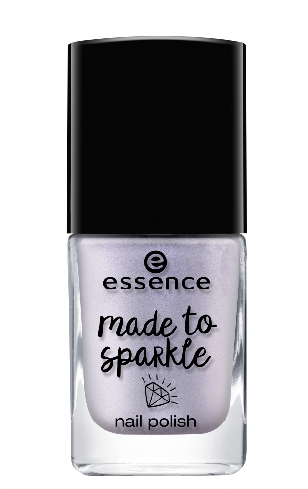essence lak na nechty - Made To Sparkle Nail Polish - 04 Party Of Your Life