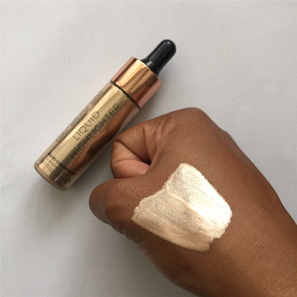 Makeup Revolution tekući highlighter – Liquid Highlighter – Liquid Champagne