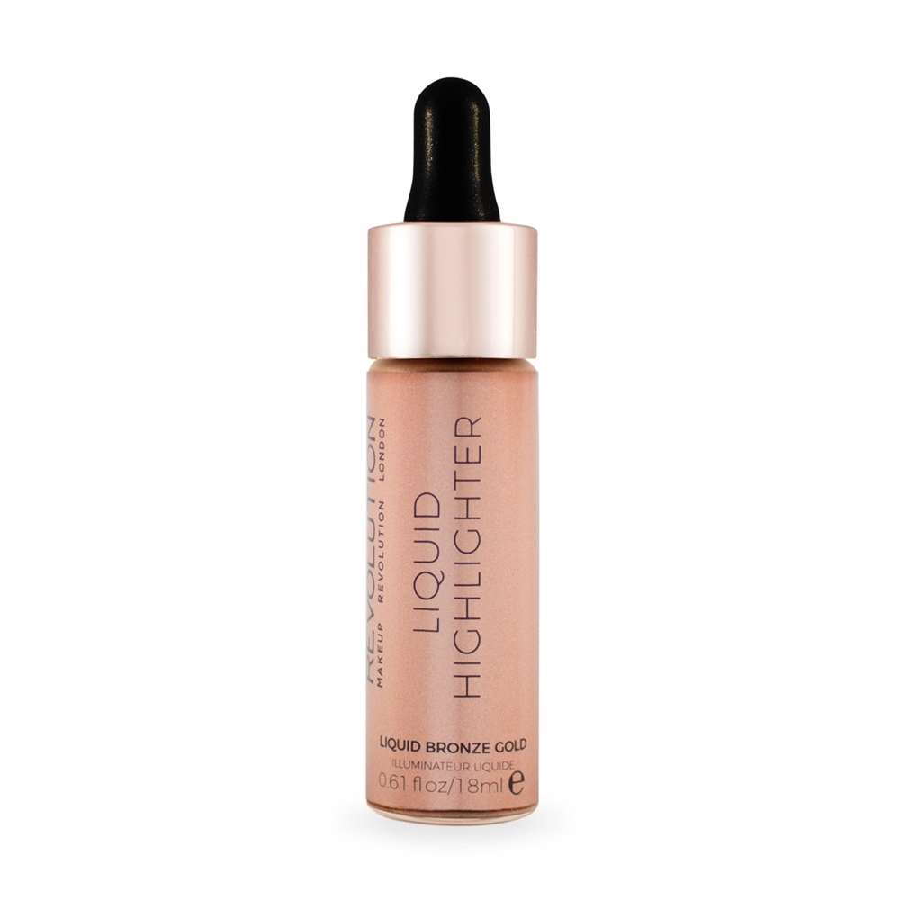 Makeup Revolution illuminante liquido  – Liquid Highlighter – Liquid Bronze Gold