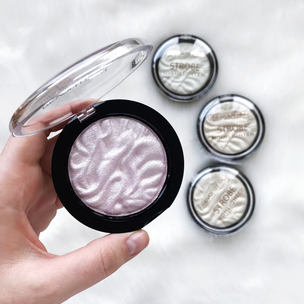 Makeup Revolution highlighter - Strobe Highlighter - Lunar