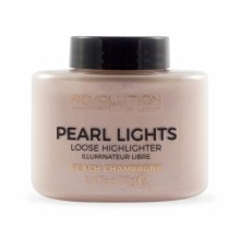 Makeup Revolution osvetljevalec v prahu - Pearl Lights Loose Highlighter - Peach Champagne