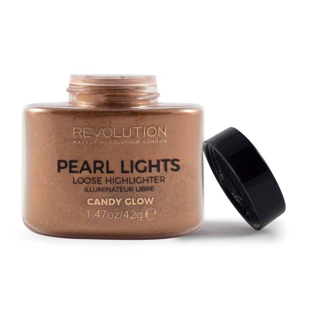 Makeup Revolution Pearl Lights Loose Highlighter highlighter púder - Candy Glow