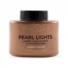 Makeup Revolution osvetljevalec v prahu - Pearl Lights Loose Highlighter - Candy Glow