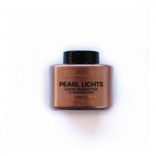 Revolution osvetljevalec v prahu - Pearl Lights Loose Highlighter - Savanna Nights