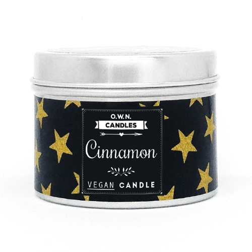 O.W.N. Candles Reisekerze - Zimt (Cinnamon) Trendy