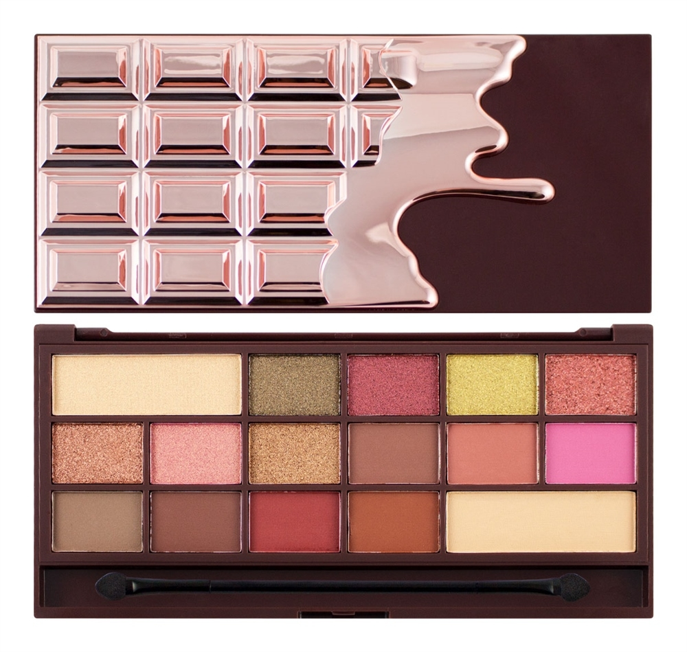 I Heart Makeup paleta senčil - I Love Chocolate - Rose Gold