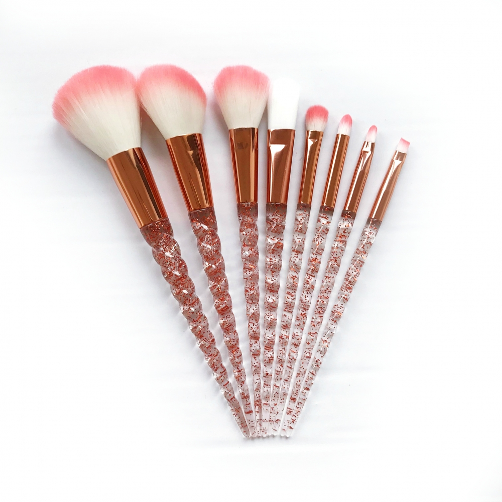 Mayani Design set pensule de machiaj -  Glitter Diamond Brush Set
