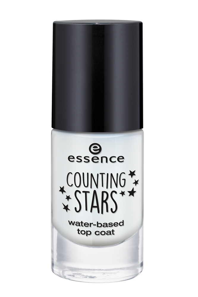 essence nadlak za nohte - Counting Stars - Water-Based Top Coat - 01 Dance 'Til Dawn