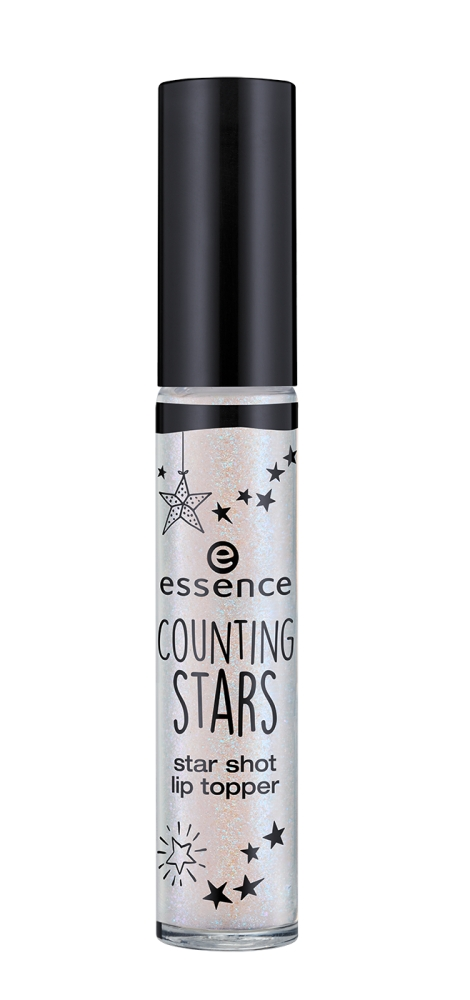 essence premaz za ustnice - Counting Stars - Star Shot Lip Topper - 01 Live, Love, Sparkle