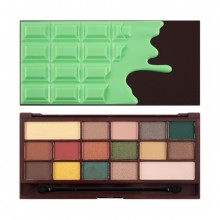 I Heart Makeup Chocolate paleta senčil - Mint Chocolate