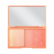 Heart Makeup paleta za obraz - Chocolate Highlighting & Illuminating Duo - Peach & Glow