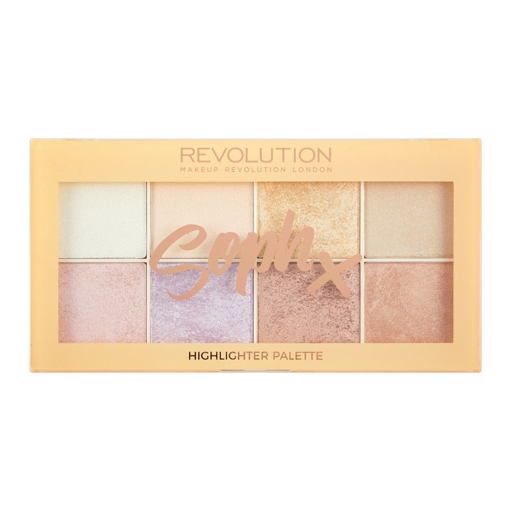 Makeup Revolution palette di illuminanti -  Soph X Highlighter Palette