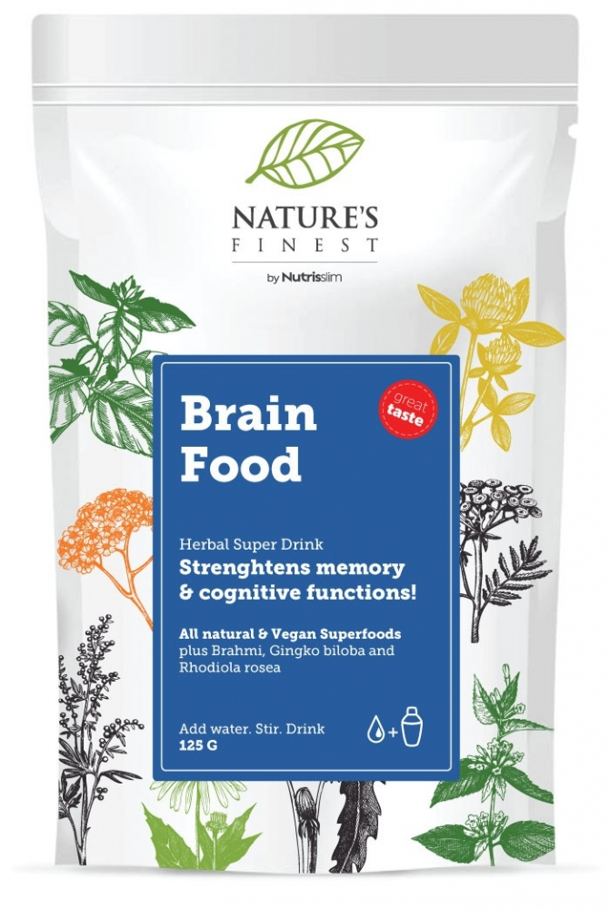 Nutrisslim napitek - Brain Food Super Drink