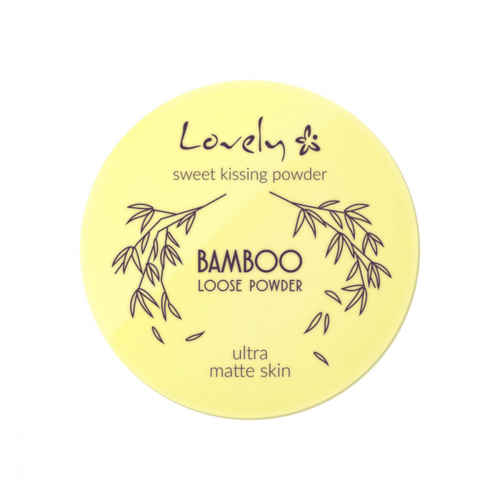 Lovely završni puder u prahu - Bamboo Loose Powder