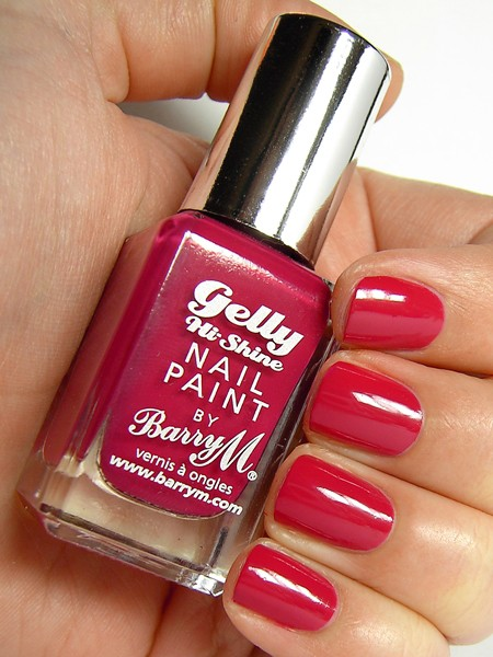 Barry M Gelly Effect lak za nohte - Pomegranate