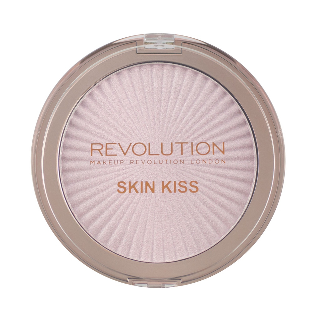 Makeup Revolution kompaktni highlighter – Skin Kiss – Pink Kiss