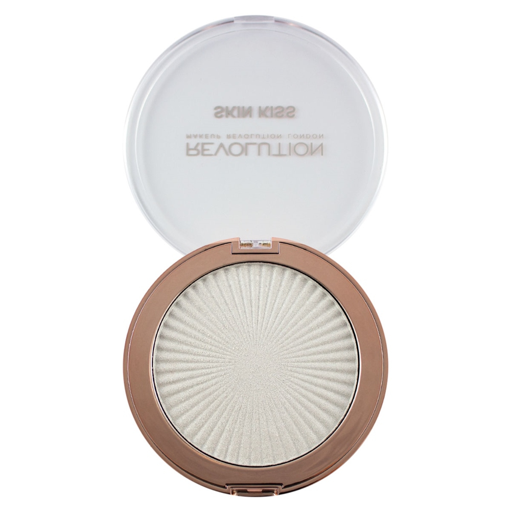 Makeup Revolution Skin Kiss kompakt highlighter - Frozen Kiss