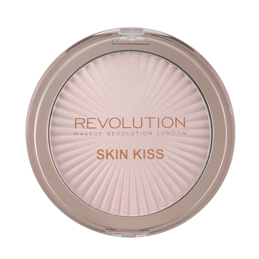 Makeup Revolution kompaktni highlighter – Skin Kiss – Prismatic Kiss