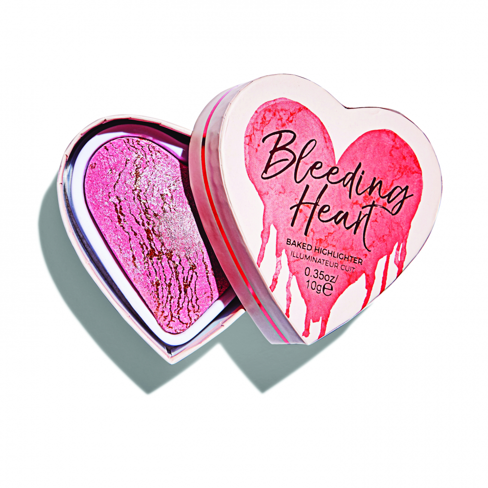 I Heart Makeup highlighter – Baked Highlighter – Bleeding Heart