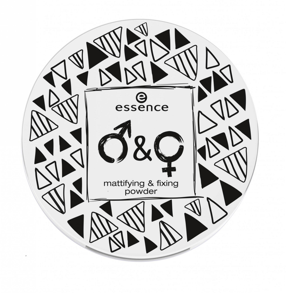 essence pudra compacta - Mattifying & Fixing Powder - 01 Nobody Is Perfect, But I'm Nobody!