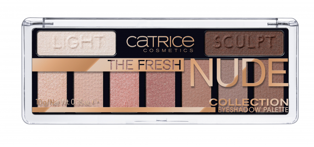 CATRICE paleta de farduri - The Fresh Nude Collection Eyeshadow Palette – 10 Newly Nude