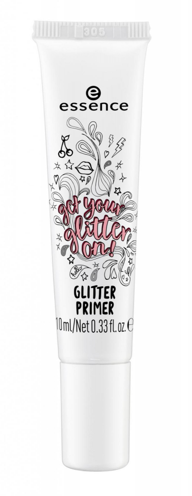 essence base per gli ombretti e brillantini - The Trend Factory - Get Your Glitter On Glitter Primer - 01 Transparent