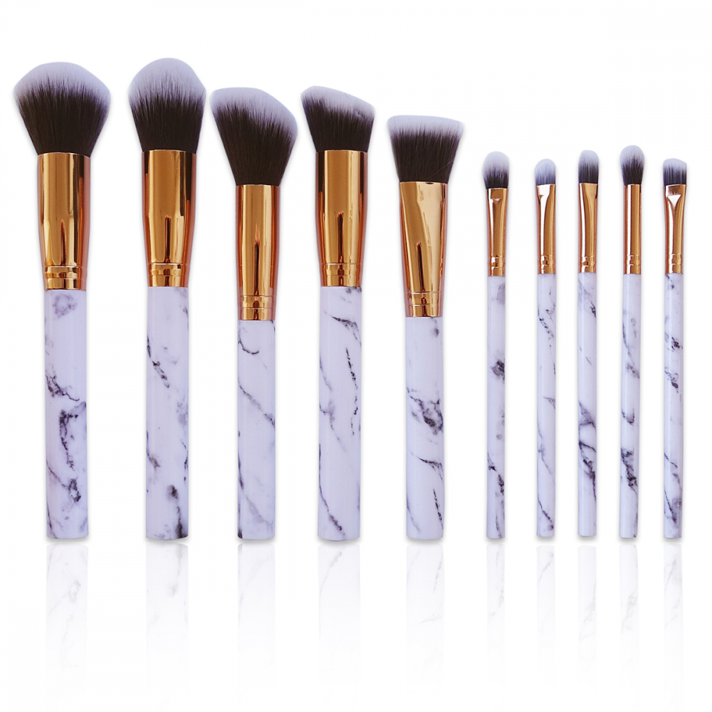 Mayani Design set pensule de machiaj - Marble Brush Set