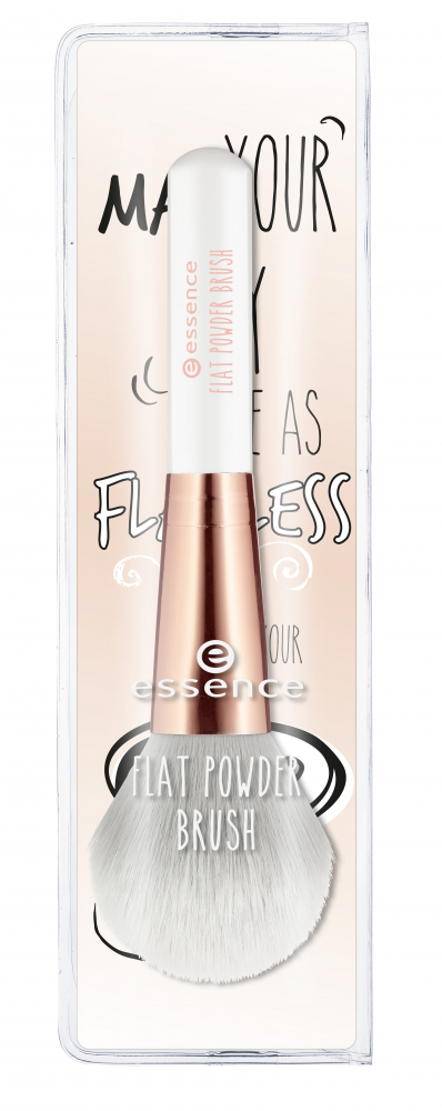 essence ploščat čopič za puder - Flat Powder Brush