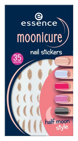 Essence Nagel Sticker Moonicure Nail Stickers 01 Half
