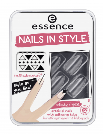 Essence Nagel Sticker Nails In Style 04 Clear For You