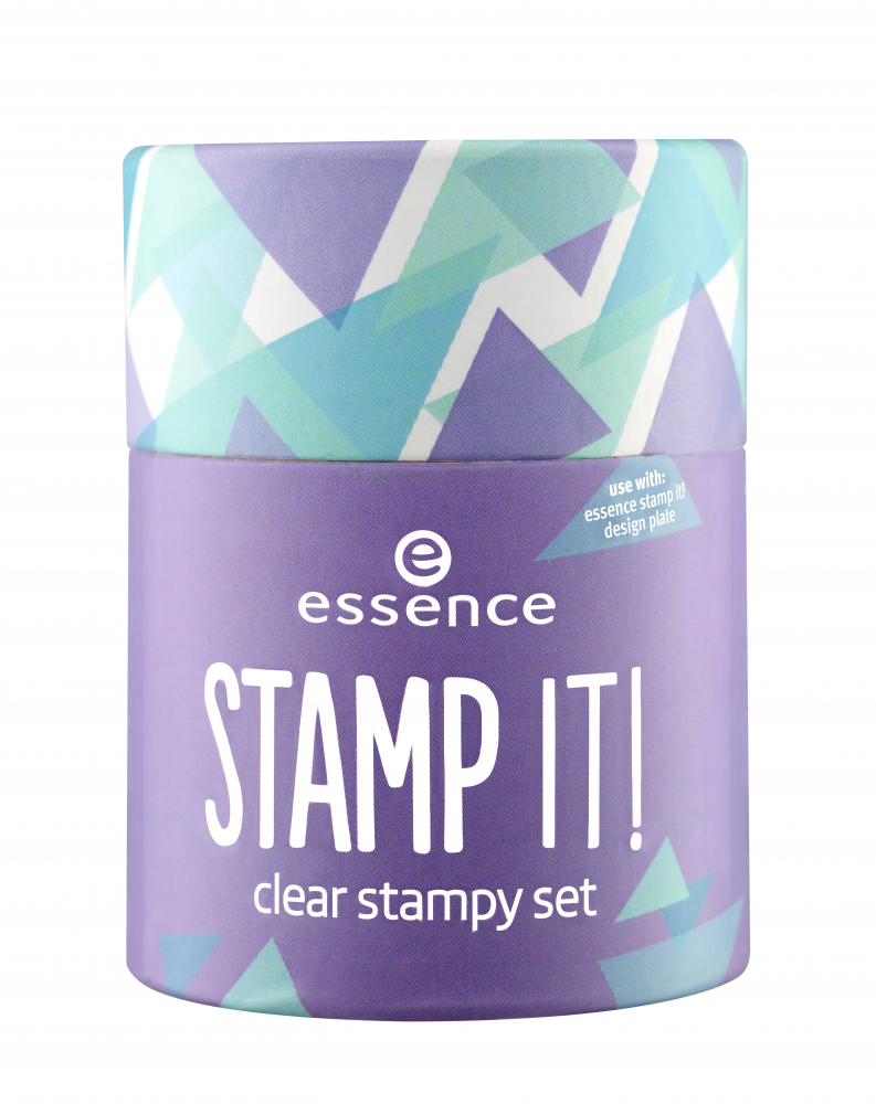 essence set s štampiljko - Stamp It! Clear Stampy Set