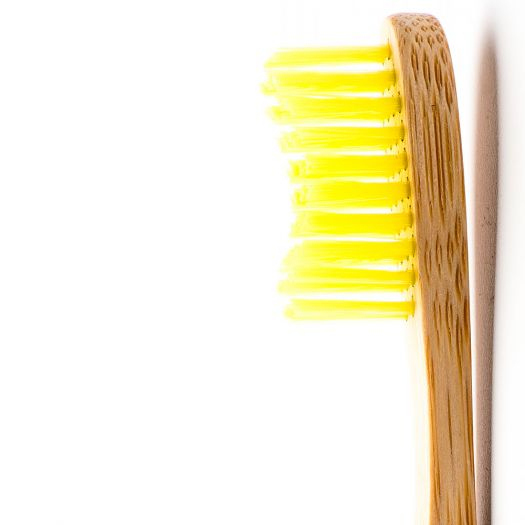 Humble Brush Zahnbüste – Toothbrush Adult - Yellow – Soft